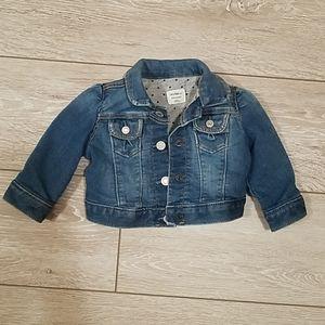 Baby Gap 0-6 month Denim Jacket
